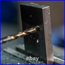 Drillforce 20PCS 1/16-1/2 Cobalt Drill Bits Set HSS M35 Jobber Twist Drill Bit