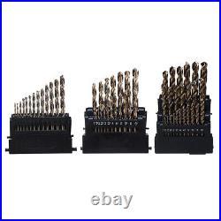 Drillpro M42 HSS Drill Bit Set 3 Edge Head 8% High Cobalt Drill Bit Twist