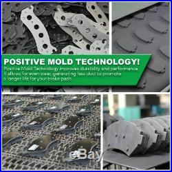 For 05 06 07 08 09 10 Cobalt G5 Front Ceramic Brake Pads & Cross Drilled Rotors