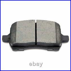 Front Ceramic Brake Pads And Rotors For 04-12 Chevrolet Malibu Slot Drill