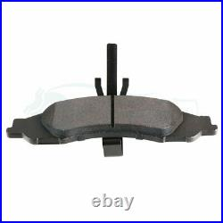 Front Ceramic Brake Pads And Rotors For 2005-2010 Pontiac G6 Slot Drill