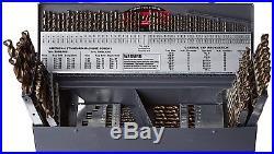 Gyros 45-32315 Premium Industrial Grade Cobalt 115-Pieces Drill Bit Set