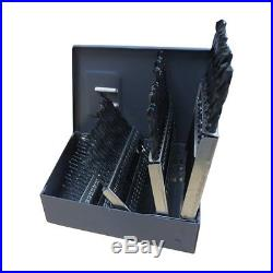Gyros 45-32360 Premium Made in USA Industrial Grade Cobalt Drill Bit Set 60