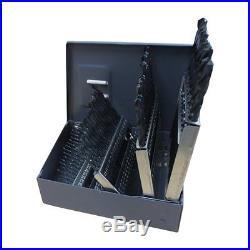 Gyros 45-32360 Premium Made in USA Industrial Grade Cobalt Drill Bit Set 60 P