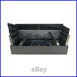 Gyros Cobalt Drill Bit Set Jobber Length 115 Piece Power Tool Stainless Steel