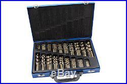 HSS Co Drill Bit Set 170-tg 1-10 mm Spiral Tool Cobalt Carbide