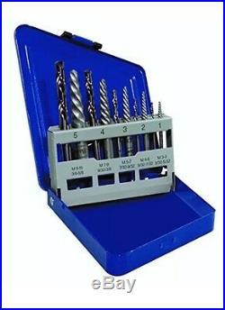 Hanson 11119 10 Piece Extractor And Drill Set Left Handed Cobalt Drills