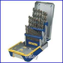 Hanson 3018002B 29 Piece Cobalt M-42 Metal Index Drill Bit Set