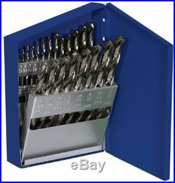 Hanson 63221 21 Piece Cobalt High Speed Steel Drill Bit Set