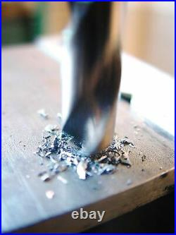 Heller Tools 990 HSS-Co Metal Drill Bit Set, Gray, 19-pcs. Ø 1-10 mm