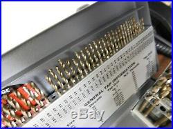 Hertel Incomplete Gold Finish Cobalt Screw Machine Length Drill Bit Set 07574999