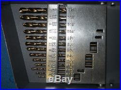 Huot 29pc Jobber Drill Set 1/16 1/2 Cobalt
