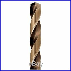 IRWIN Drill Bit Set, M35 Cobalt Steel, 29-Piece (3018002) 29pc Pro Case