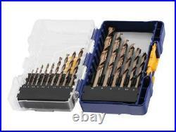 IRWIN HSS Cobalt Drill Bit Set, 15 Piece IW3036501