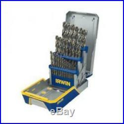 IRWIN INDUSTRIAL TOOLS Drill Bit Indust 29pc Set Case, Cobalt