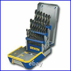 IRWIN INDUSTRIAL TOOL CO 3018002 29 Piece Cobalt Drill Bit Set M35 Hardness