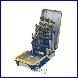 IRWIN Tools Cobalt High-Speed Steel Drill Bit 29-Piece Metal Index Set Ideal