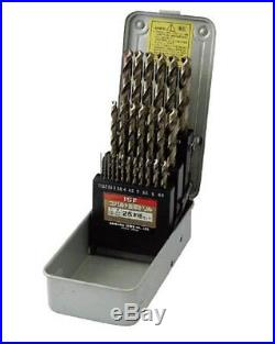 ISHIHASHI / COBALT MASAMUNE DRILL 25 PCS SET (1.0-13.0mm) / COD-25S / MADE JAPAN