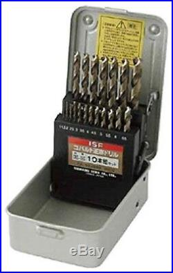 IS (Ishihashi Seiko) Cobalt Masamune Drill 19 pcs Set COD-19S Japan import EMS