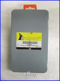 Interstate Cobalt Jobber Drill Bit Set 1/16-1/2x64ths 135D Qty 29 Pcs 63323570