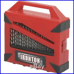 Ironton 115-Pc. Cobalt Drill Bit Set