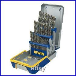 Irwin-3018002 29pc Cobalt Industrial Drill Bit Set
