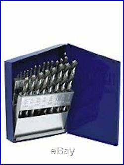 Irwin 63221 Drill Bit Set, 21 Pc, Cobalt, 1/16 to 3/8, by 64ths in Metal Index