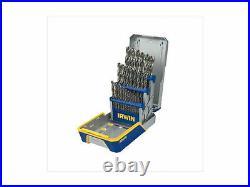 Irwin Hanson 29 Pc. Cobalt M-35 Metal Index Drill Bit Set 3018002