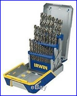 Irwin Hanson 3018002 29 Piece Cobalt Drill Bit Set M35 Hardness