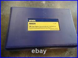 Irwin Hanson 35 Piece Master Screw Extractor/Drill Bit Set 11135ZR