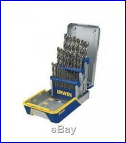 Irwin Industrial Tools 29 Piece Cobalt Drill Bit Set