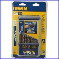Irwin Industrial Tools 3018002 29 Piece Cobalt M35 Metal Index Drill Bit Set 3