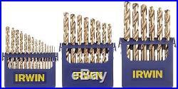 Irwin Industrial Tools (3018002) Cobalt M-35 Metal Index Drill Bit Set 29 Piece