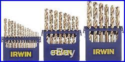 Irwin Tools 3018002 Cobalt M-35 Metal Index Drill Bit Set 29 Piece