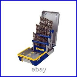 Irwin/hanson Tools 3018002 29pc Drill Bit Industrial Set Case, Cobalt