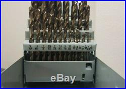 JOBBER DRILL SET 1/16 1/2 X 64 Cobalt 29 PC Oxide 238-21029 X307CF #A1-00002