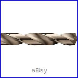 Jobber Drill Bits Cle-Line C21129 135 Degree Heavy-Duty Cobalt Length Set Metal