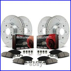 K2731 Powerstop 4-Wheel Set Brake Disc and Pad Kits Front & Rear New for Chevy