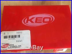 Keo 1/4,5/16,3/8,1/2,3/4,5/8,1x100 Deg 6 FL M42-8% Cobalt Countersink Set