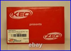 Keo 53529-Tin Countersink Set, 0 Fl, 5 Pc, 90 Deg, Co, Tin