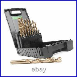 Kielder High Speed Steel 8% Cobalt Drill Bit Set (19PC)