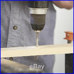 Klutch Cobalt High Speed Steel Drill Bit Set 29-Pc