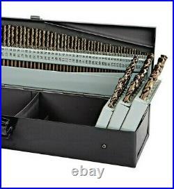 M35 Cobalt Steel Drill Bit Set Twist Metal Bits Jobber Hole HEAVY DUTY 115 Pcs