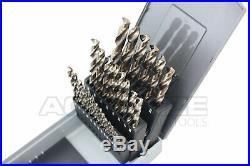 M35 HSS+5% Cobalt Premium Drill Set, 135 Degree Split Point, #0422-0029
