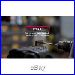 M42 Cobalt Reduced Shank Drill Bit Set In Metal Case 8 Piece 135° Point Tip New