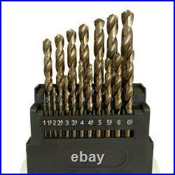 M42 Hss Twist Drill Bits Set 8% Cobalt Twist Drill Bits Set for Stainless Steel