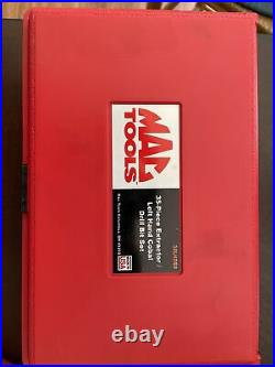 MAC TOOLS 35 Piece Extractor Set Left Hand Cobalt Drill Bit Set US Free Shipping