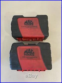 MAC TOOLS 6338DSB & 6321IDSA 48pc COBALT Grade & Short Drill Bit Sets- SEE AD