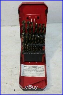 MAC TOOLS 6338DSB Cobalt Grade Drill Bit Set