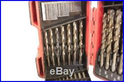 MAC Tools 29 Piece Cobalt Drill Bit Set 1/16 thru 1/2 with Plastic Box 6338DSB